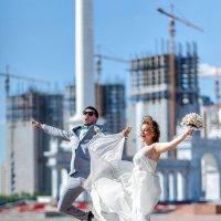 Свадебная прогулка по Астане :: Ruslan Shayakhmetov