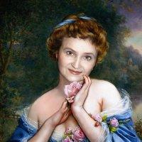 От сердца и почек,любимой цветочек! :: Евгений Усатов