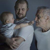 Два отца, два сына :: Olga Steinberg