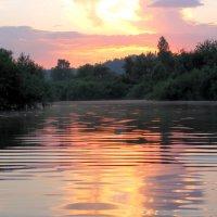 Вечернее купание :: Нина северянка