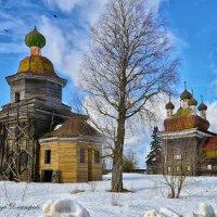 Церкви Каргополя :: Дмитрий Бачтуб