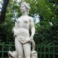 """Статуя Летнего сада """"Аллегория красоты"""".  Дж. Зорзони, Италия, 1719 г. :: Елена Павлова (Смолова)"""