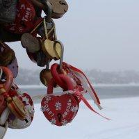 Мост влюбленных в Плесе :: Валентина Кузнецова
