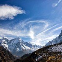 Гималайский пейзаж :: Александр Чазов