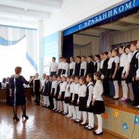 школьный детский хор :: Юлия Мошкова