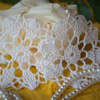 Мои рукодельные серьги :: Лилия Левицкая