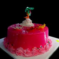 Торт для девочки :: Наталья Джикидзе (Берёзина)