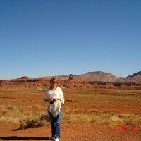 Мексиканская Шляпа - скала на границе Аризоны и Юты. :: Владимир Смольников