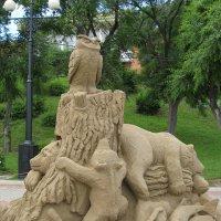 Песчаная скульптура. :: александр кайдалов
