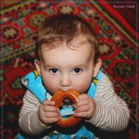 Абсолютный чемпион мира по метанию баранок Ливцов Илья. :: Anatol Livtsov