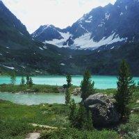 Oзеро Куйгук.   Алтай. :: Schbrukunow Gennadi