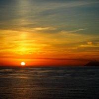 Закат в Тропее. Калабрия. :: Andrey Panoff