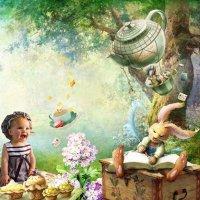 Весёлое чайпитие :: Оля Дубровкина