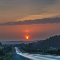 Заход на Урале... :: Аnatoly Gaponenko