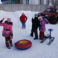 Зимние забавы :: Дмитрий Агафонов