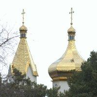 Новые купола женского монастыря :: Герман Левченко