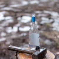 Кувалда, шишка и бутылка :: Алексей Филиппов