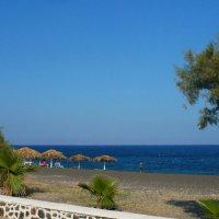 Черные пляжи Периссы. :: Чария Зоя