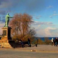 на Приморском на бульваре... :: Александр Корчемный