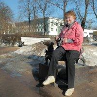 Рядом со знаменитостью.... :: Tatiana Markova