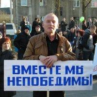 На митинге :: Людмила Жданова