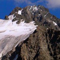 горы. пик Орджаникидзе 4410 м :: Горный турист Иван Иванов