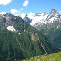 Вершины Домбая летом :: Vladimir 070549