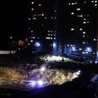 Ночная стройка :: Константин Ефремов