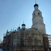 Храм в честь и славу Всех Святых :: Galina Leskova