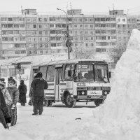 """""""ЗАСНЕЖИЛО"""".... :: Владимир 1955 Железнов"""
