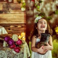 хохотушка цветочная! :: Янина Гришкова
