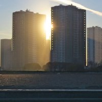 солнце в мегаполисе :: Елена