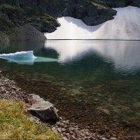 Горное озеро :: Наталия Григорьева