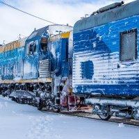 Поезд в заполярье :: Константин Ольховка
