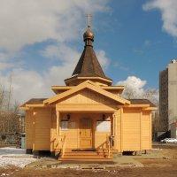 Церковь князяАндрея Боголюбского на Волжскоком :: Александр Качалин