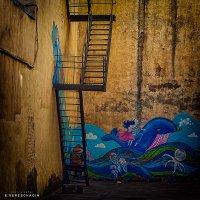 Урбанометрия. Люди. Лестницы. Дворы. :: Евгений Верещагин