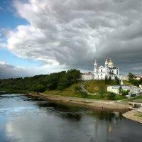 Вид на Свято-Успенский кафедральный собор :: Милешкин Владимир Алексеевич