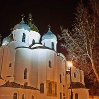 Великий Новгород. Ночь :: Юрий Слюньков