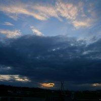 Буйство красок вечернего неба.... :: Людмила Богданова (Скачко)