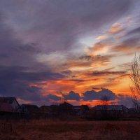 Вечер в деревне... :: Елена Elena