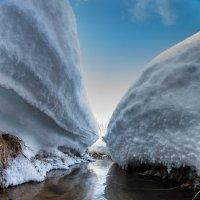Снежный каньон :: Алексей Попов
