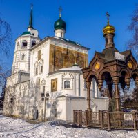 Храм во имя Спаса нерукотворного образа. Иркутск. 1706 г. :: Rafael