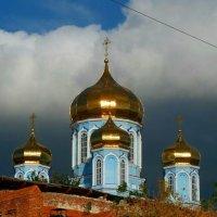 Купола Владимирского собора. :: Чария Зоя