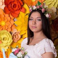 девучшка-весна :: Яна Гончарова