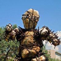 Вот такие скульптуры есть в Ницце :: Таня Фиалка