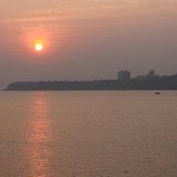 закат в Мумбаи. :: maikl falkon