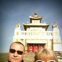 Буддийские храм -Элиста :: Марина