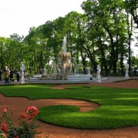 Парадный партер и Коронный фонтан. :: ТАТЬЯНА (tatik)