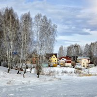 Дачи зимой :: Дмитрий Конев