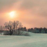Весенний закат :: Виктор Выдрин